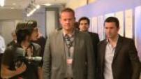 """66ème Festival de Cannes : arrivée en conférence de presse de l'équipe d'Inside Llewyn Davis"""""""