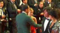 """67ème Festival de Cannes 2014 : Montée des marches """"Captives"""""""