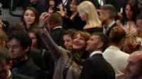 """Festival de Cannes 2014 : Montée des marches de l'équipe du film de """"Maps to the Stars"""""""