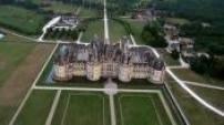 Vue Aérienne Chateau de Chambord