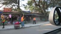 Street scenes in Sittwe in Burma 01