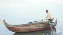 Fishermen in the Bay of Bengal near Sittwe, Burma
