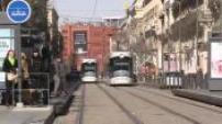 Marseille tramway illustration