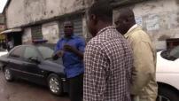 Nigerian slum & discharge