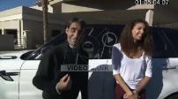 Interview Romain Thievin and Chloe Mortaud in Las Vegas