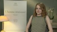 """68ème Festival de Cannes 2015 : Interview Emma Stone pour """"L'Homme irrationnel"""""""