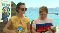 """68ème Festival de Cannes 2015 : Interview Charlotte Le Bon et Marilou Berry pour """"Vice Versa"""""""