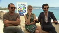 """68ème Festival de Cannes 2015 : Interview Gilles Lellouche, Laurent et Niney pour """"Vice-Versa"""""""