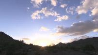 Timelapse sunset in Arizona