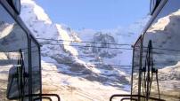Bienvenue dans le train le plus haut d'Europe