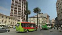 Chili : Illustrations Valparaiso et Santiago du Chili