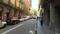 Barcelone : illustrations Cannabis Social Club et scènes de rue et circulation routière