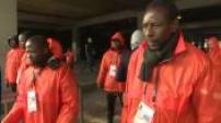 Illustrations mesures de sécurité aux abords du Stade de France pour le match amical de football France - Russie