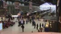 Grève SNCF : illustrations TGV,TER et transiliens + illustrations portiques SNCF + illustrations bus de substitution
