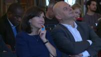 Euro 2016 : Présentation de la FanZone Tour-Eiffel par Anne Hidalgo et interview de la maire de Paris
