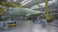 Illustrations chaîne d'assemblage Airbus A 380