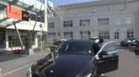 Départ de l'équipe de France de Foot du Bourget pour arrivée à l'hotel Régina de Biarritz