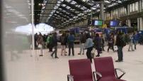 Illustration grève SNCF gare de Lyon et gare de Bordeaux Saint Jean