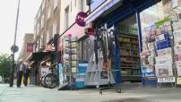 Illustrations scènes de rue à Londres et San Remo