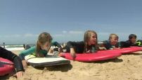 Le surf féminin en hausse