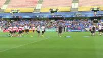Euro 2016 : arrivée de l'équipe suisse en France