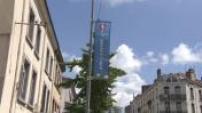 Loi travail / Grève : illustrations de la grève des éboueurs à Saint-Etienne