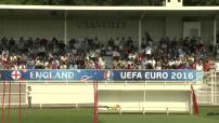 Euro 2016 : illustrations de l'entraînement de l'Equipe d'Angleterre à Chantilly