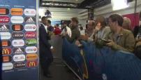 Euro 2016, après France - Roumanie (2-1) : itw des français en zone mixte