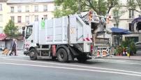 Illustration ramassage des poubelles à Paris