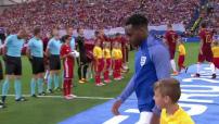 Euro 2016 :  portrait des enfants porte-drapeaux et accompagnateurs de joueurs lors des matchs iciels