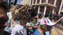 L'équipe de France arrive à Marseille pour son match contre l'Albanie
