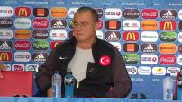 Euro 2016 : conférence de presse et entraînement de l'équipe de Turquie