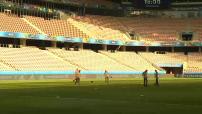 Euro 2016 : entraînement de l'équipe belge