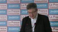 Brexit: press conference Jean-Luc Mélenchon