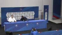 Euro 2016 / quart de finale Fance/Islande : conférence de presse de Patrice Evra