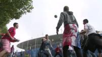 Euro 2016 :  les supporters francais en manquent pas d'inventivité