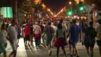 Eruo 2016 : Ambiance dans les rues de Marseille après le match Angleterre-Russie : liesse et affrontements