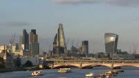Carte postale de Londres et illustrations diverses