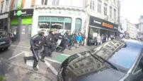 Nouveaux heurts à Lille entre les forces de l'ordre et les supporters anglais