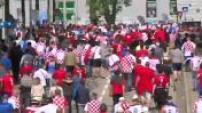 Euro 2016 : Illustration supporters tchèques et croates à Lens
