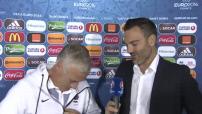 Euro 2016 : interview de Didier Deschamps la veille du quart de finale contre l'Islande