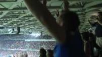 L'engouement des supporters Islandais à l'Euro 2016 :