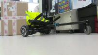 Illustrations de différents hoverboards et monocycle électrique.