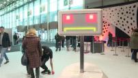 Foire de Paris le show des robots.