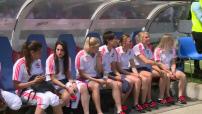 Illustations et interviews de Amandine Henry à l'Olympique lyonnais et à Portland avec les Thorns FC