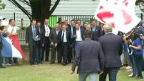 Université d'été des Républicains 2016 : arrivée triomphale de Nicolas Sarkozy