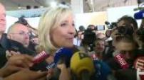 Politique lancement de la campagne présidentielle de Marine Le Pen lors des Estivales du Front National à Fréjus