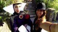 Les célébrités fêtent Halloween à Disneyland Paris