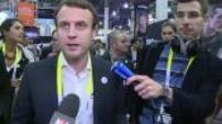 CES 2015 : Emmanuel Macron en déplacement à Las Vegas