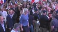 Marine Le Pen fait son discours de clôture des Estivales